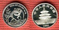 10 Yuan Silbermünze 1990 China Volksrepublik PRC Panda 1 Unze Silber La... 72.91 US$ 65,00 EUR  +  9.53 US$ shipping