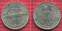 3 Mark 1930 A Weimarer Republik Gedenkmünze Zeppelin Weltflug LZ 127 19... 89.74 US$ 80,00 EUR  +  9.53 US$ shipping
