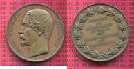 Kupfer  Medaille Napoleon Präsident Wahl 1...