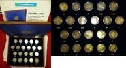 21 x 2 Euro Gedenkmünzenset 2012 Europa Zehn Jahre Euro - In Leuchtturm... 89,00 EUR kostenloser Versand