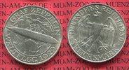 3 Mark 1930 D Weimarer Republik Gedenkmünze Zeppelin Weltflug LZ 127 19... 99,00 EUR  zzgl. 4,20 EUR Versand