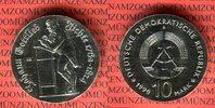 10 Mark Silbergedenkmünze 1990 DDR Gedenkmünze 175. Todestag Johann Got... 65,00 EUR  + 8,50 EUR frais d'envoi
