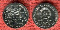 20 Mark Silbermünze DDR 1986 DDR 200. Geburtstag der Gebrüder Grimm, Ge... 220,00 EUR  + 8,50 EUR frais d'envoi