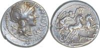 M.Cipius,Denar 115-114 v.Chr.,Rom. Vorzüglich  90,00 EUR  zzgl. 5,00 EUR Versand