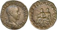 Philippus II.Sesterz 246-249 n.Chr.Rom. Vorzüglich  275,00 EUR  zzgl. 5,00 EUR Versand