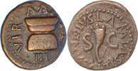 Augustus,Quadrans,Rom. vorzüglich  75,00 EUR  zzgl. 5,00 EUR Versand