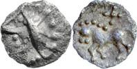 2.-1.Jh.v.Chr.  Kelten, Vindeliker, Obol, Süddeutschland vz  90,00 EUR  zzgl. 5,00 EUR Versand