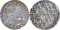 3 Groschen 1589 Polen,Litauen,Riga SIGISMUND III.,1587-1632 vz  195,00 EUR175,00 EUR  zzgl. 5,00 EUR Versand