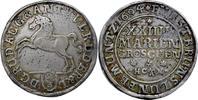 Rudolph August & Anton Ulrich,Gulden(2/3 Taler) 1694,Braunschweig ss  105,00 EUR  zzgl. 5,00 EUR Versand