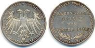Frankfurt Stadt: Doppelgulden. Johann von Österreich. 1848 vz-stgl, herr... 175,00 EUR  zzgl. 4,00 EUR Versand