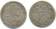 Habsburg: 6 Kreuzer Münzstätte Hall 1732 ss+ Carl VI, 1711-1740: 35,00 EUR  zzgl. 2,50 EUR Versand