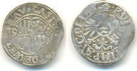 1/2 Batzen 1592 Friedberg Reichsburg: Johann Eberhard, 1577-1617: ss, P... 20,00 EUR  zzgl. 1,00 EUR Versand