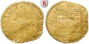 Dukat 1609 Niederlande Utrecht, Gold, 3,47...