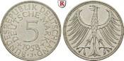 5 DM 1958 J Klein- und Kursmünzen 5 DM 195...