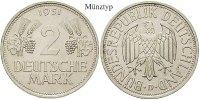 2 DM 1951 F Klein- und Kursmünzen 2 DM 1951, F, Cu-Ni. J.386. ss  30,00 EUR  +  10,00 EUR shipping