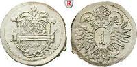 Kreuzer o.J. (ab 1681) Ulm, Reichsstadt  prfr.  70,00 EUR