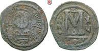 Follis 541 Byzanz Justinian I., 527-565 f.ss  55,00 EUR  +  10,00 EUR shipping