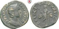 Sesterz 228  Julia Mamaea, Mutter des Severus Alexander, +235 ss  220,00 EUR  zzgl. 6,50 EUR Versand