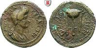 Bronze 81-96 Lydien Thyateira, Domitia, Frau des Domitianus, + nach 126... 250,00 EUR