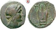 Bronze 250-200 v.Chr. Lesbos Mytilene ss, hellgrüne Patina  200,00 EUR  +  10,00 EUR shipping