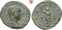 Sesterz 247-249  Philippus II., 247-249 ss+, grüne Patina  290,00 EUR  +  10,00 EUR shipping
