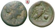 Bronze 224-198 v.Chr. Attika Athen f.ss  390,00 EUR  zzgl. 6,50 EUR Versand