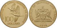 100 Dollars 1976 Trinidad und Tobago 6,21 g PP, Originaletui der Frankl... 200,00 EUR  +  10,00 EUR shipping