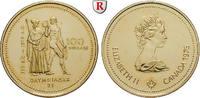 100 Dollars 1976 Kanada Elizabeth II., seit 1952, Gold, 13,34 g st  330,00 EUR