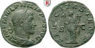Sesterz 241-243  Philippus I., 244-249 ss-vz, raue Oberfläche  280,00 EUR  zzgl. 6,50 EUR Versand