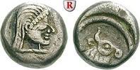 Hemidrachme 5.-4. Jh. v.Chr. Kolchis  ss, Rs. dezentriert  340,00 EUR