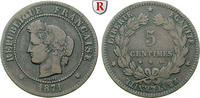 5 Centimes 1871 Frankreich Regierung der Nationalen Verteidigung, 1870-... 220,00 EUR