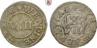 8 Heller 1648 Werden und Helmstedt, Abtei Heinrich IV. Dücker, 1646-166... 70,00 EUR
