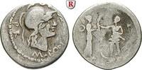 Denar 46-45 v.Chr.  Cn. Pompeius Magnus und M.Poblicius f.ss  220,00 EUR