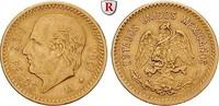 10 Pesos 1906 Mexiko Vereinigte Staaten, seit 1905, Gold, 8,33 g ss  320,00 EUR