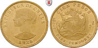 100 Pesos 1926-1980 Chile Republik, seit 1...