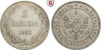2 Markkaa 1906 Finnland Unter russischer Herrschaft, Nikolaus II., 1894... 60,00 EUR  +  10,00 EUR shipping