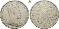Dollar 1904 Straits Settlements Edward VII., 1901-1910 ss, kl. Rdf.  70,00 EUR  +  10,00 EUR shipping