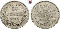 50 Penniä 1911 Finnland Unter russischer Herrschaft, Nikolaus II., 1894... 40,00 EUR  +  10,00 EUR shipping