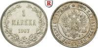 Markka 1907 Finnland Unter russischer Herrschaft, Nikolaus II., 1894-19... 30,00 EUR  +  10,00 EUR shipping
