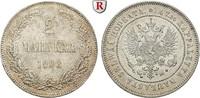 2 Markkaa 1908 Finnland Unter russischer Herrschaft, Nikolaus II., 1894... 60,00 EUR  +  10,00 EUR shipping