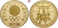 Goldmedaille 1964 Sport Olympische Spiele, Gold, 34,58 g PP, Haarlinien... 1300,00 EUR