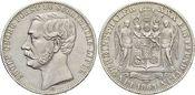 Vereinstaler 1865 B Schaumburg-Lippe Adolf...