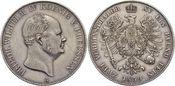 Doppeltaler 1859  A Brandenburg-Preussen F...