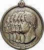 Eisen-Hohlguss-Medaille 1842 Brandenburg-Preussen Friedrich Wilhelm IV.... 395,00 EUR free shipping
