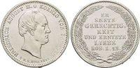 Sachsen-Albertinische Linie 1/6 Taler Friedrich August II. 1836-1854.