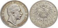 5 Mark 1903  A Preußen Wilhelm II. 1888-1918. Kl.Rf., sehr schön +  29,00 EUR  +  5,00 EUR shipping