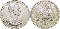3 Mark 1913  A Preußen Wilhelm II. 1888-1918. Min.Kr., vorzüglich  23,00 EUR  +  5,00 EUR shipping