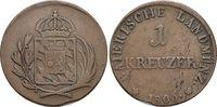 Für Tirol, CU-Kreuzer 1 1806 Bayern Maximilian I. Joseph 1806-1825. Kl... 69,00 EUR  +  5,00 EUR shipping
