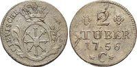 2 Stüber 1 1756  C Brandenburg-Preussen Friedrich II. 1740-1786, Münzst... 19,00 EUR  +  5,00 EUR shipping