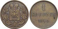 CU-1 Kreuzer 1840 Schwarzburg-Rudolstadt Friedrich Günther 1807-1867. s... 17,00 EUR  +  5,00 EUR shipping